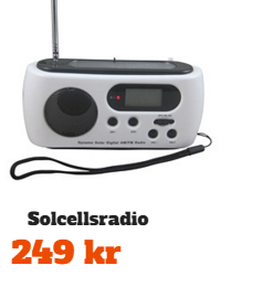 Solcellsradio